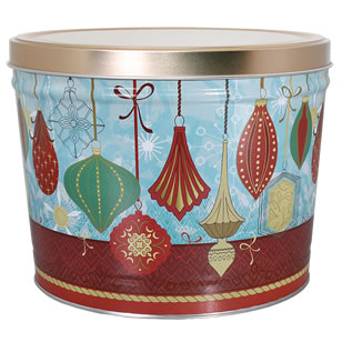 1.5 LB Ornaments Tin of Dill Pickle