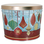 1.5 LB Ornaments Tin of Lightly Salted