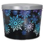 1.5 LB Shining Snowflake Tin of Lightly Salted Potato Chips
