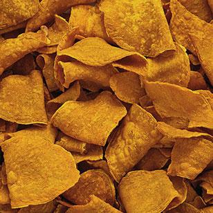 Sweet Potato Chip texture
